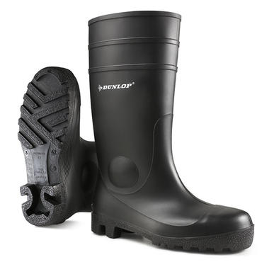 Dunlop Full Safety Welly Black