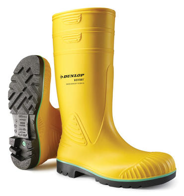 Dunlop Acifort Heavy Duty Yellow Welly