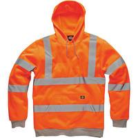 Dickies SA22090Hi Viz Hoodie Orange