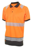 Two Tone Hi Viz Polo Shirt HVTT010