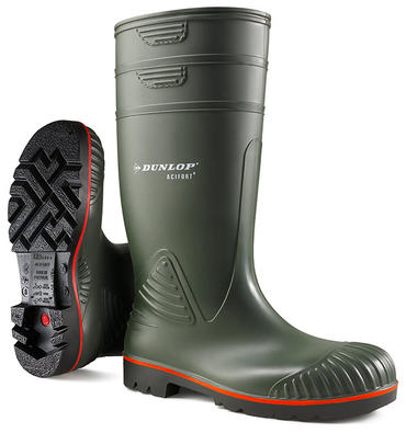 Dunlop Acifort Heavy Duty Green Agri Welly