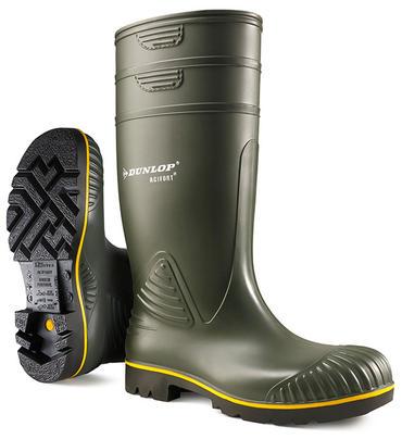 Dunlop Acifort Agri Welly Green
