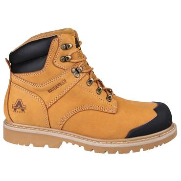 FS226 Nubuck Safety Boots Goodyear Welted