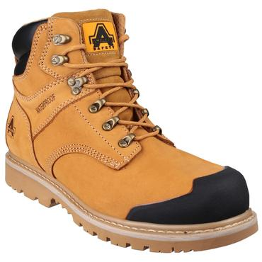 FS226 Nubuck Safety Boots Goodyear Welted Thumbnail 2