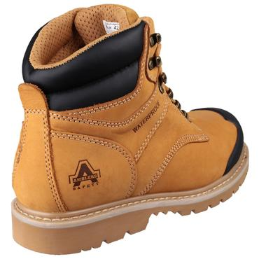 FS226 Nubuck Safety Boots Goodyear Welted Thumbnail 3
