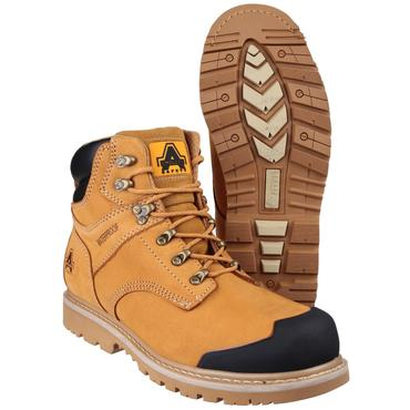 FS226 Nubuck Safety Boots Goodyear Welted Thumbnail 4