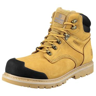 FS226 Nubuck Safety Boots Goodyear Welted Thumbnail 6
