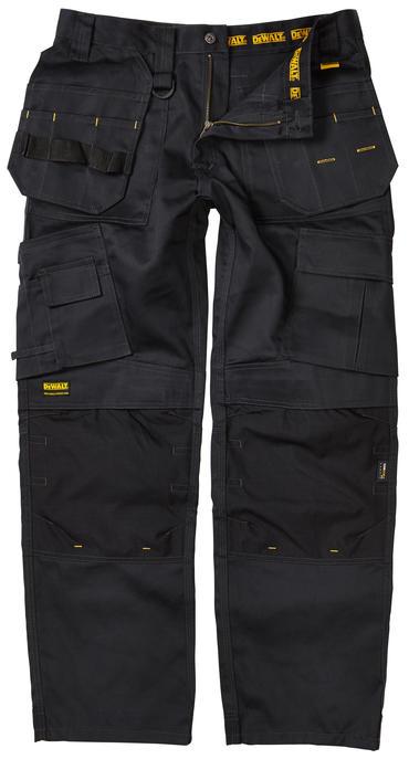 Dewalt Pro Tradesmans Trousers Black