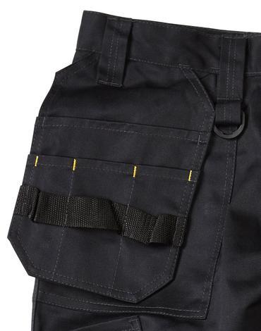 Dewalt Pro Tradesmans Trousers Black Thumbnail 2