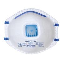 Portwest FFP2 Valved Masks 10 Pack