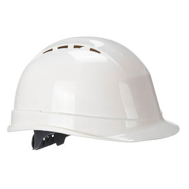 PS50 Vented Safety Helmet White