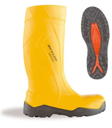 Dunlop Purofort+ Insulated Safety Welly Yellow