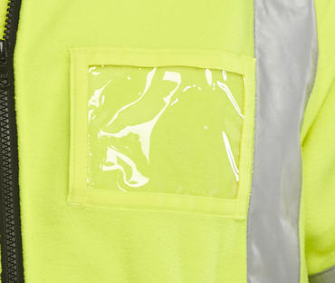 Two Tone Hi Viz Fleece Jacket Thumbnail 3