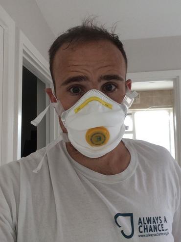 B Brand P3 Valved Dust Masks 5 Pack Thumbnail 3