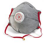 P2V Charcoal Dust Masks Valved 10 Pack