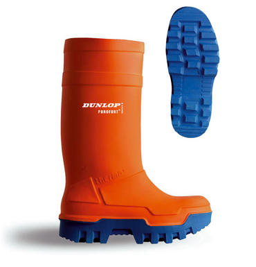 Dunlop Purofort Thermo Safety Wellies Orange