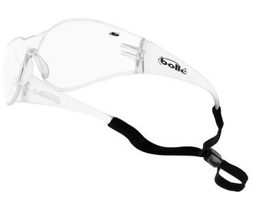 Bolle Bandido Safety Glasses Clear Lens