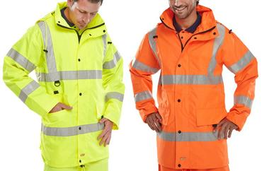 Be Seen Jubilee Breathable Hi Viz Jacket