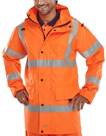 Be Seen Jubilee Breathable Hi Viz Jacket Thumbnail 2