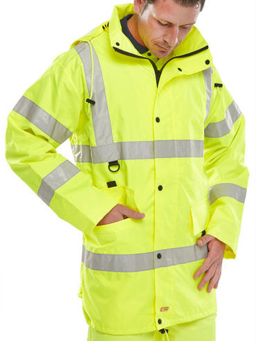 Be Seen Jubilee Breathable Hi Viz Jacket Thumbnail 3
