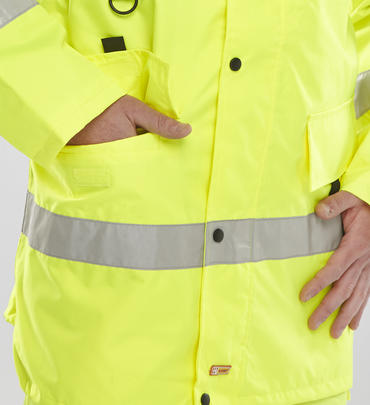 Be Seen Jubilee Breathable Hi Viz Jacket Thumbnail 6