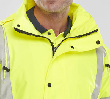 Be Seen Jubilee Breathable Hi Viz Jacket Thumbnail 7