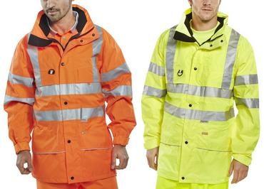 Be Seen Carnoustie 3M Reflective Jacket