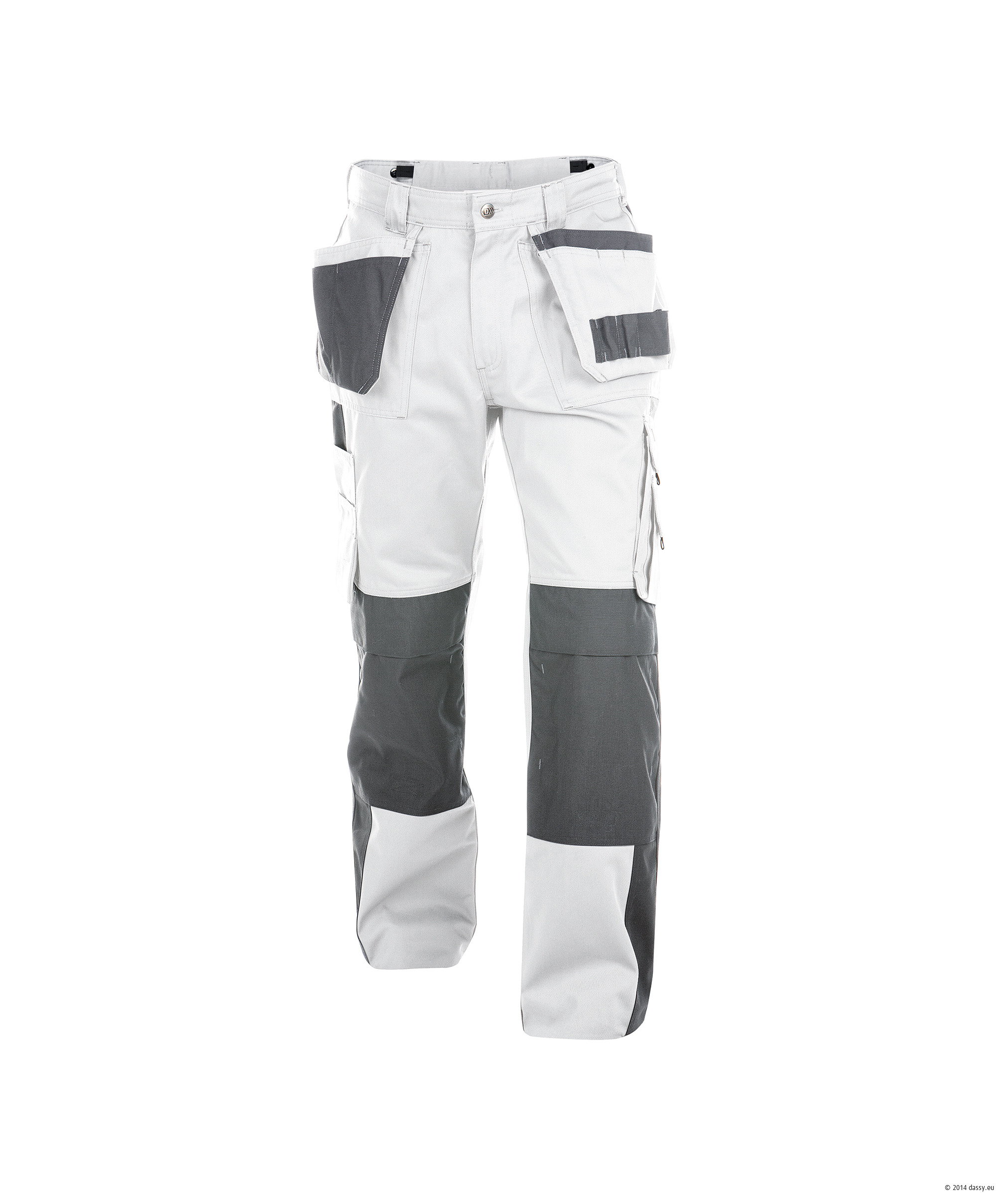 dassy seattle work trousers white grey the safety shack. Black Bedroom Furniture Sets. Home Design Ideas