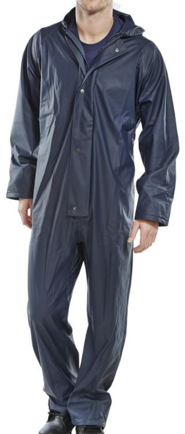 Super B Dri Waterproof Coverall Navy Blue