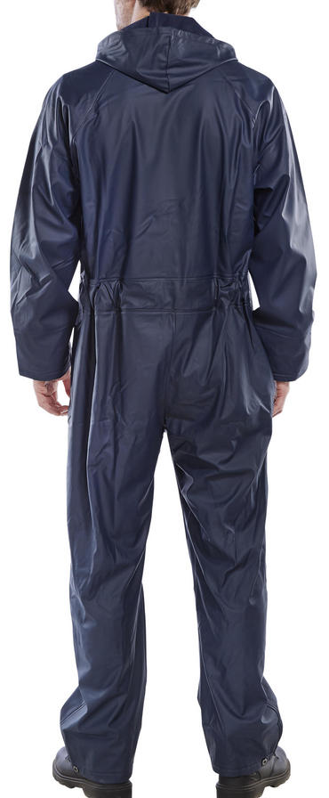 Super B Dri Waterproof Coverall Navy Blue Thumbnail 2