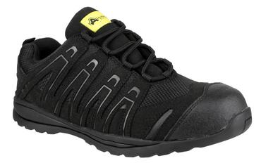 Amblers FS40C Safety Trainers Work Shoes Black  Thumbnail 1