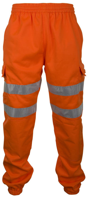 Be Seen Hi Viz Jogging Bottoms Joggers