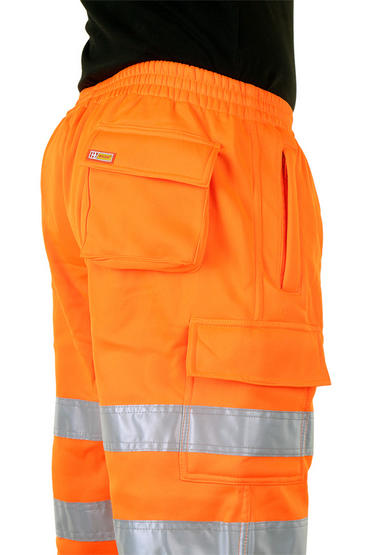 Be Seen Hi Viz Jogging Bottoms Joggers  Thumbnail 3