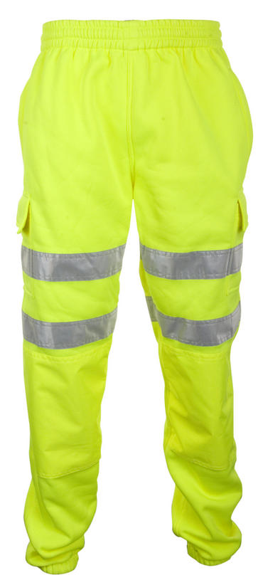 Be Seen Hi Viz Jogging Bottoms Joggers  Thumbnail 2
