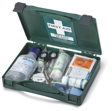 Click Travel First Aid Kit with Plastic Case BS8599 Thumbnail 1