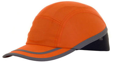B Brand Safety Baseball Bump Cap High Viz