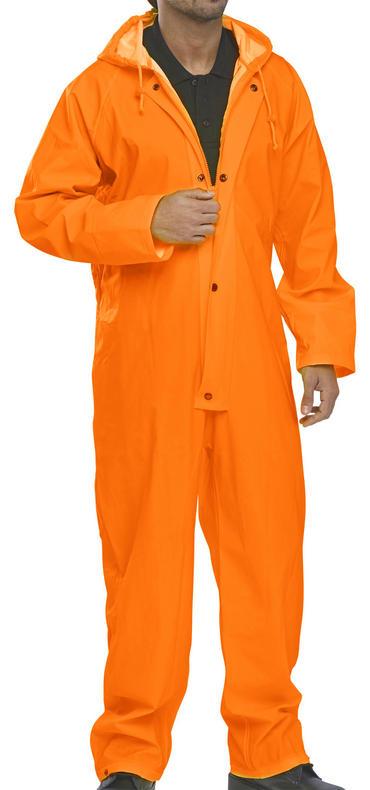 B Dri Coverall Orange