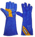 Blue & Gold Welders Gauntlet