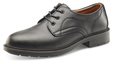 Managers Safety Shoes Black