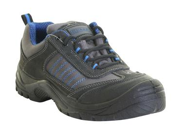 Click Safety Trainers Work Shoes Black & Navy CF17