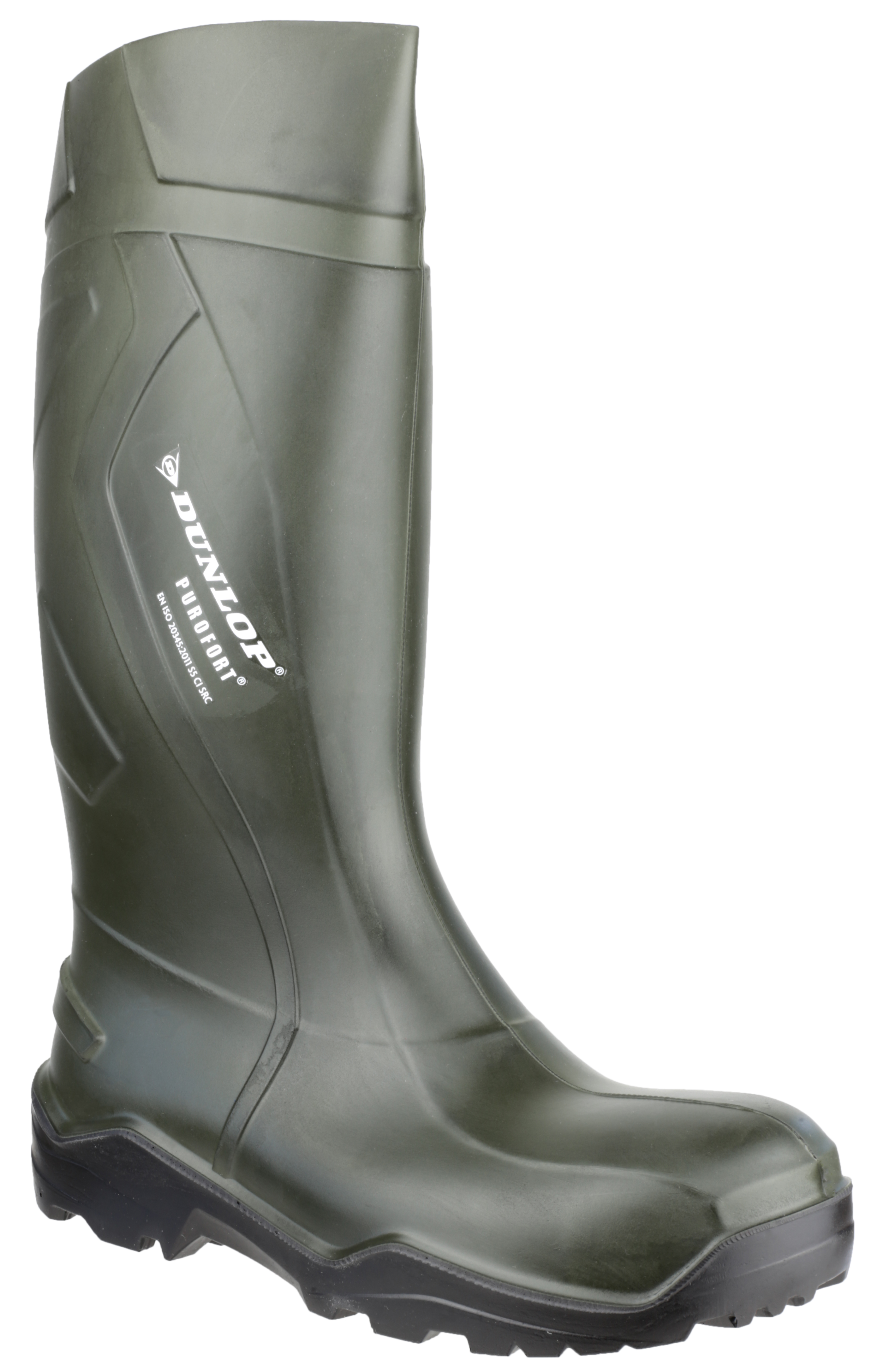 083a7c743b2 Details about Dunlop Purofort + Full Safety Welly Green C762933 Wellies  Wellington Boots 3-14