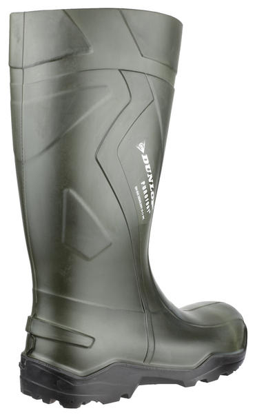 Dunlop Purofort + Full Safety Welly Green  Thumbnail 2