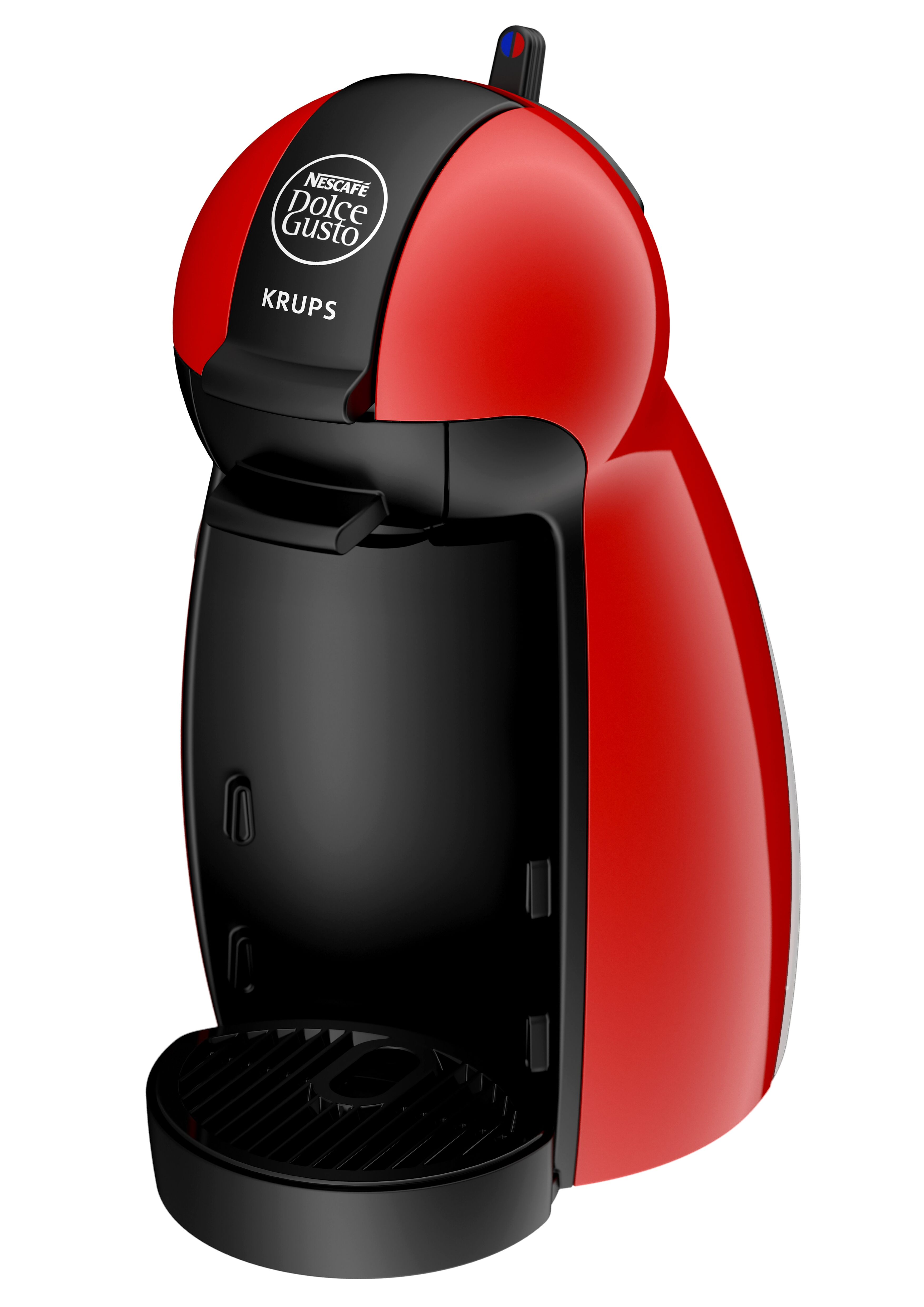 coffee machine dolce gusto pod piccolo krups kp100640 red nescafe beverage maker ebay. Black Bedroom Furniture Sets. Home Design Ideas