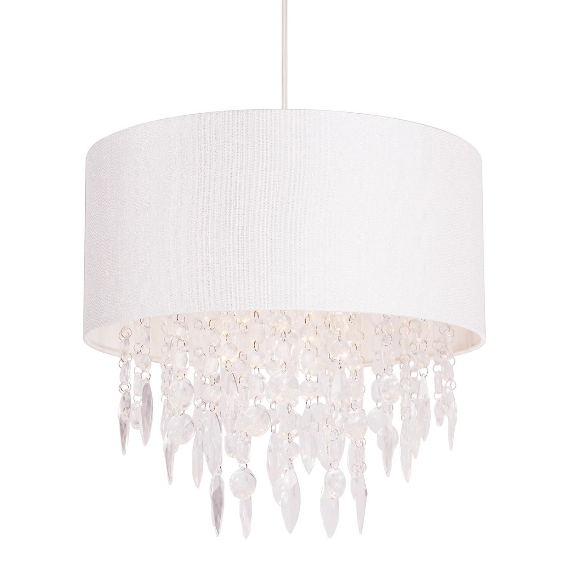 Debenhams home collection athena easy fit light shade crystal sentinel debenhams home collection athena easy fit light shade crystal droppers aloadofball Image collections