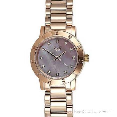 Van Peterson 7899397 Leaf Design Rose Gold Wrist Watch New Ladies Chain Strap Ebay