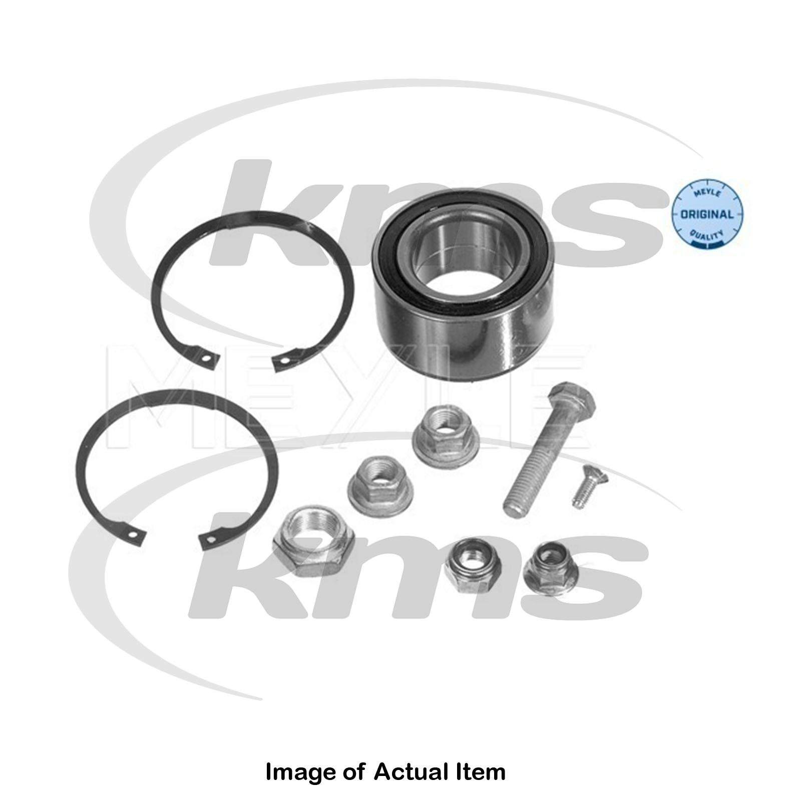 07955734458 Details about New Genuine MEYLE Wheel Bearing Kit 100 498 0035 Top German  Quality