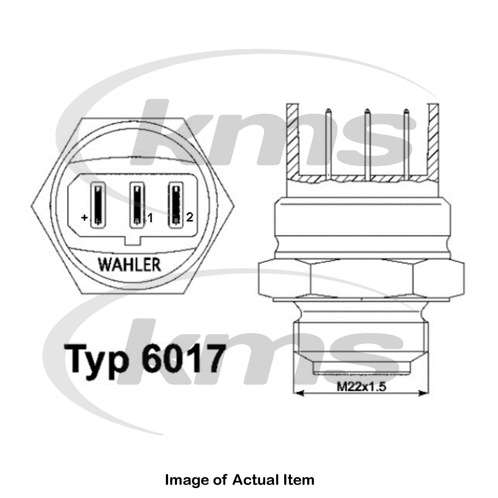 radiator fan Triscan 8625 105095 Temperature Switch