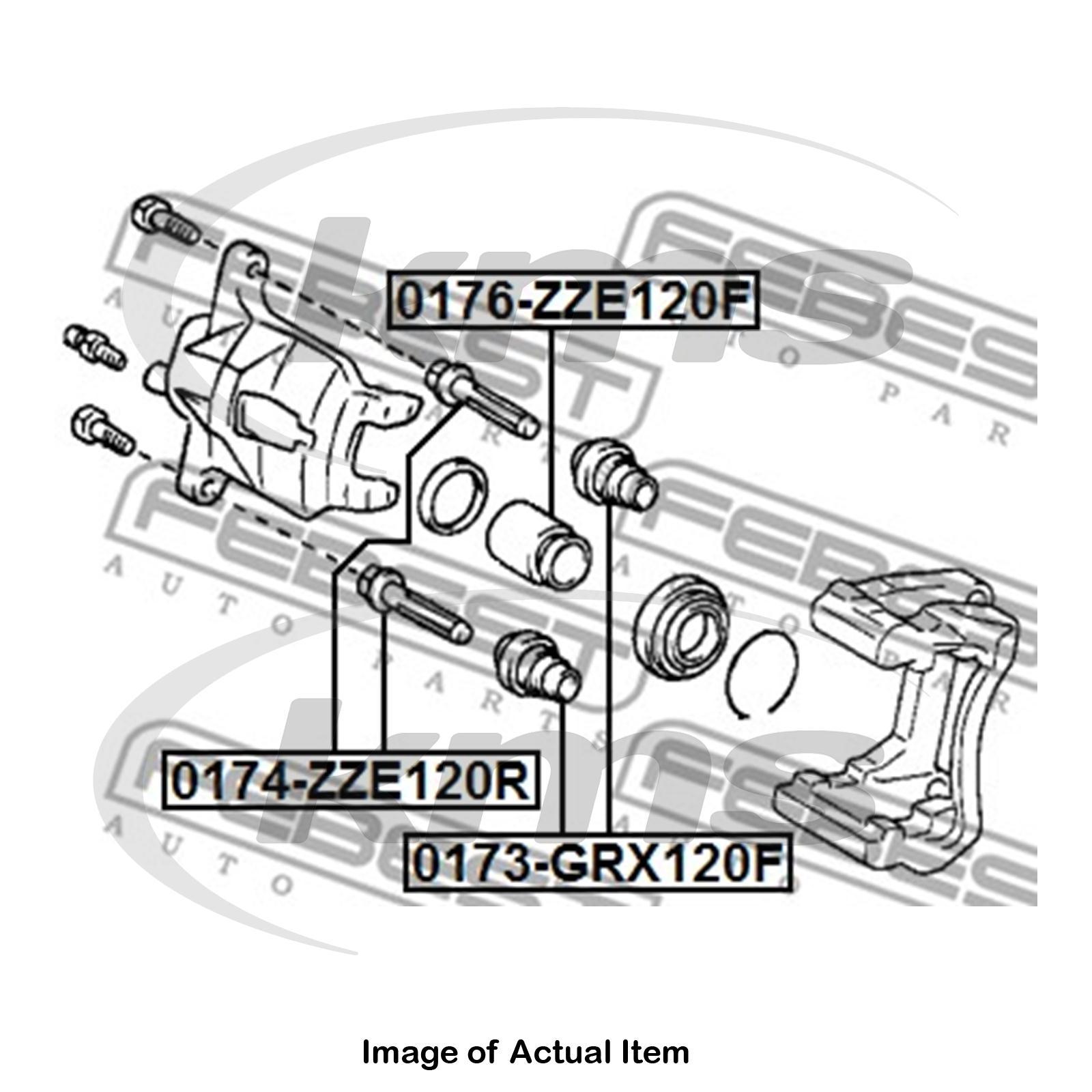 FEBEST 0176-NZE121F Front Brake Cylinder Piston