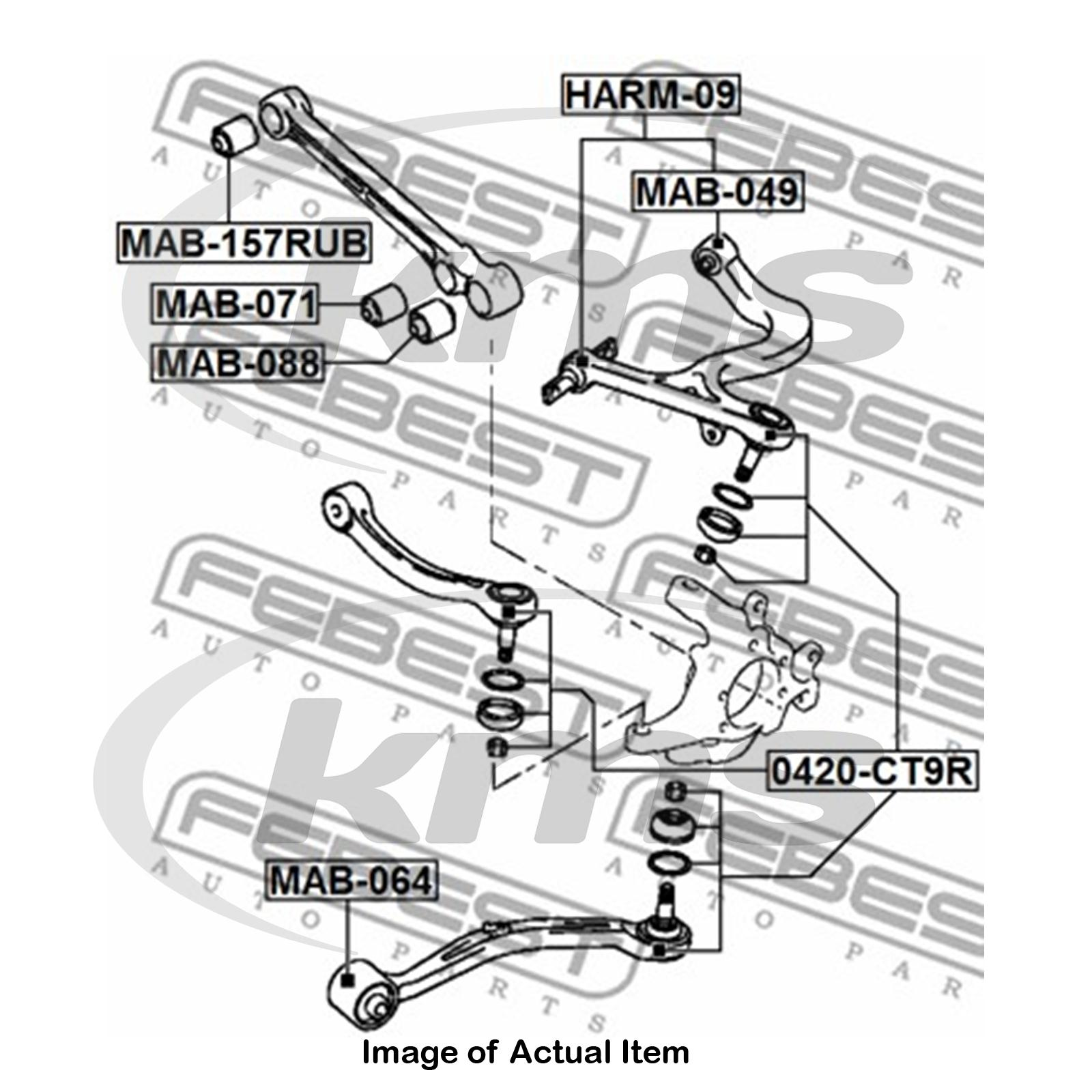 new genuine febest suspension ball joint 0420 ct9r top german 2005 Mitsubishi Galant sentinel new genuine febest suspension ball joint 0420 ct9r top german quality