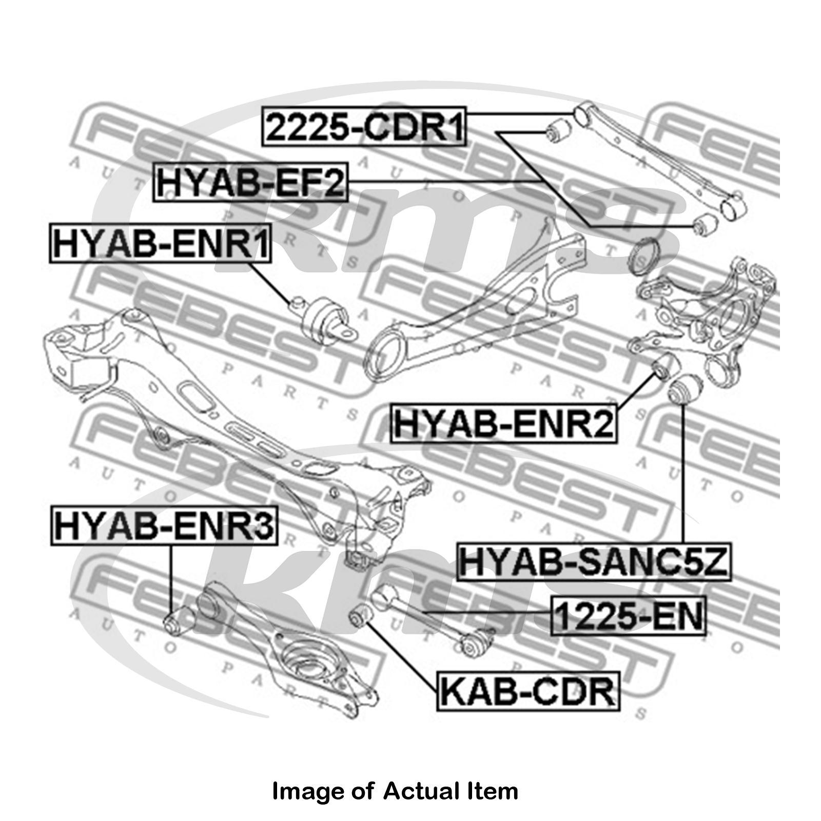 Wishbone Suspension Arm BCA7219 Borg /& Beck Track Control 1448127 Quality New